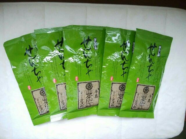 私が買い置きしている八女茶の画像