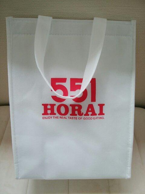 551蓬莱の保冷バッグの画像