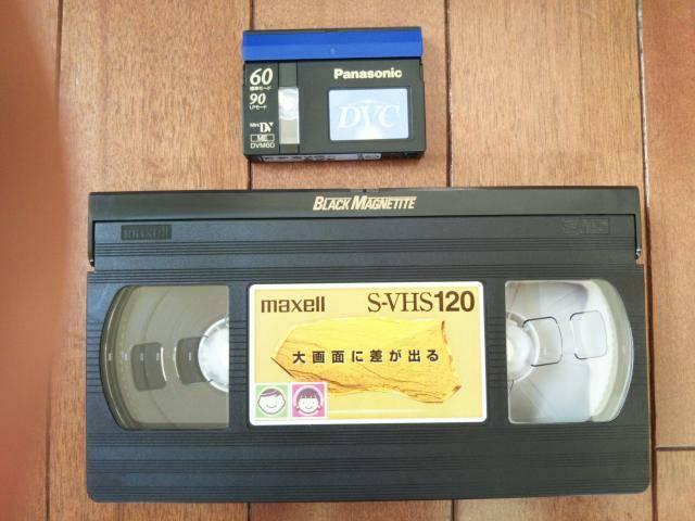 ビデオテープとminidvの画像