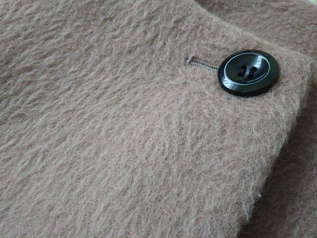 シャギータイプのコートの素材が分かる画像