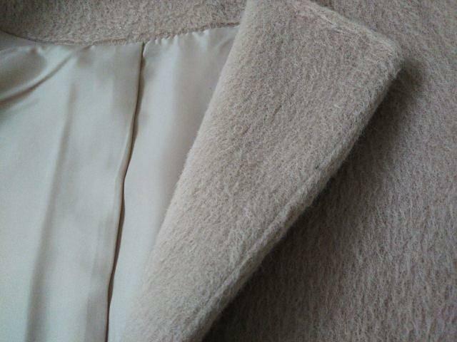 シャギータイプのコートの内側の画像