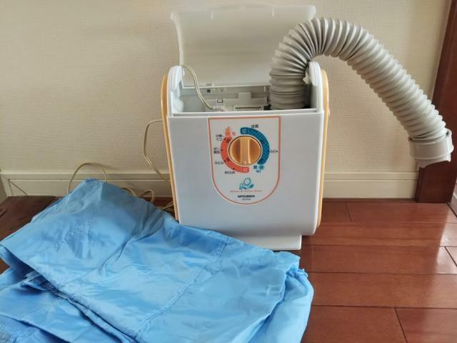 我が家の布団乾燥機の画像