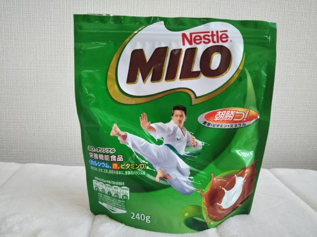 袋入りミロの画像