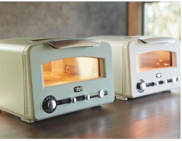 アラジングラファイトグリル&トースターは2色あり