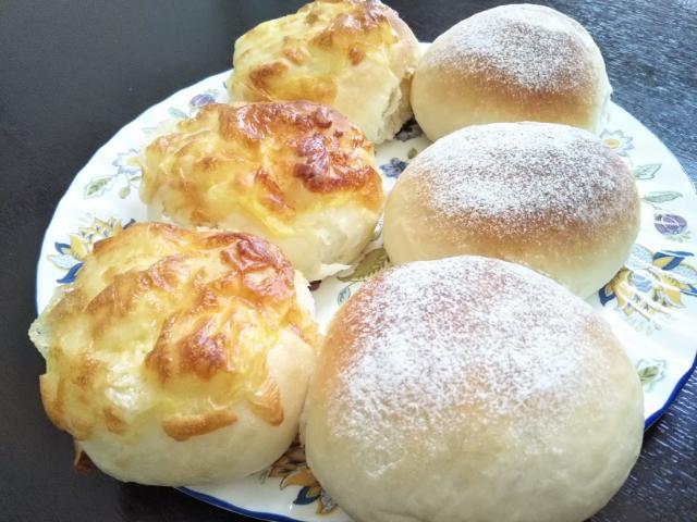 手作りしたパン