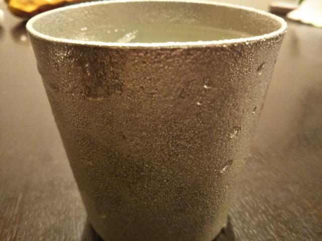 タンブラーの表面についた水滴